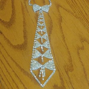 🖤Jeweled Tie Necklace